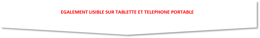 LISIBLE TABLETTE